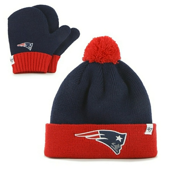 aecb56180dc 47 Other -  47 Brand New England Patriots Hat   Glove Set